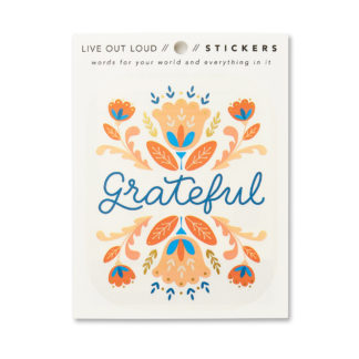 Grateful Sticker