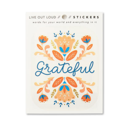 Grateful Sticker