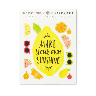 Make Your Own Sunshine Sticker