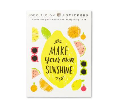 Make Your Own Sunshine Sticker