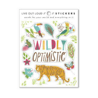 Wildly Optimistic Sticker