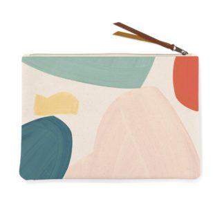 Shapes Canvas Pouch