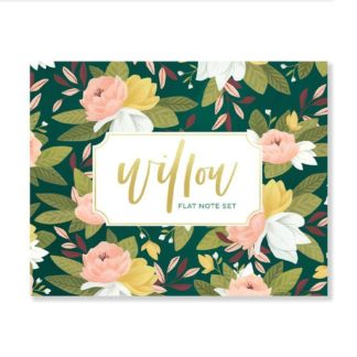 Willow Flat Notecard Set