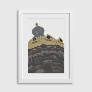 """12x18"""" Des Moines Capitol Building Print"""