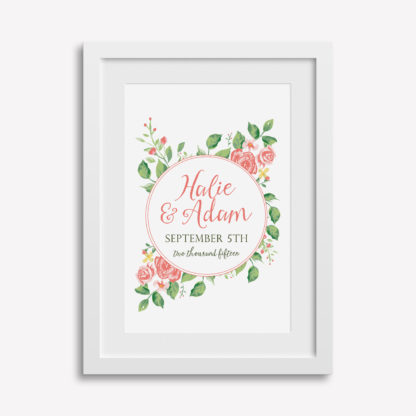 "12x18"" Customizable Wedding Print"
